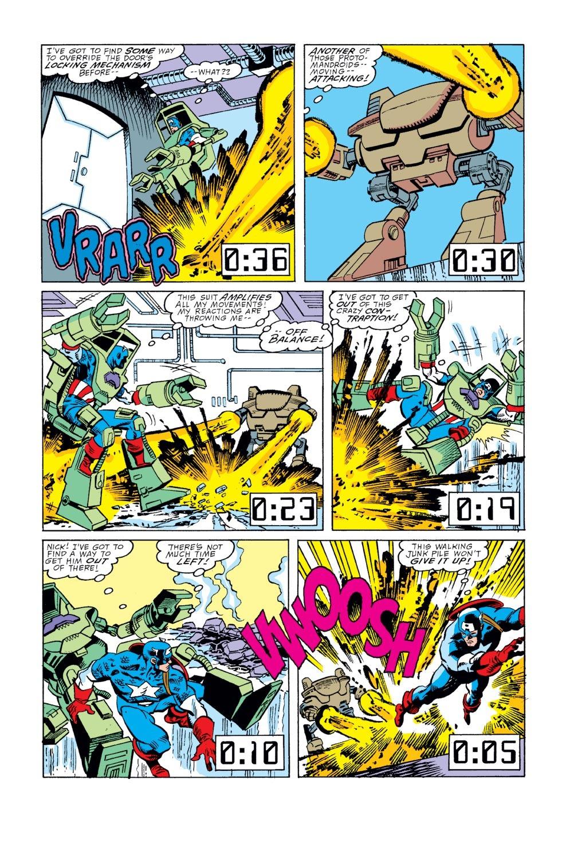 Captain America (1968) Issue #351 #283 - English 17