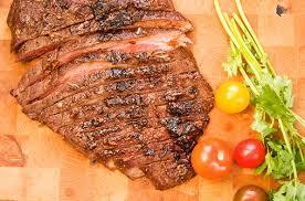 Spice Rubbed Flank Steak Recipe