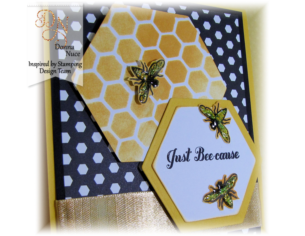 Inspired by Stamping, Crafty Colonel, Honey Bees Stamp Set, Just for You Card