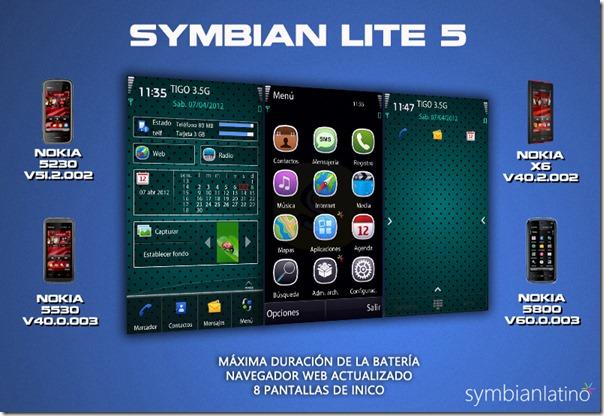 CFW Symbian Lite v5 para os Nokia 5230, 5530, 5800 e X6