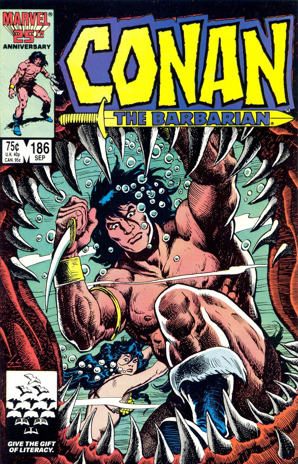 Conan the Barbarian (1970) Issue #186 #198 - English 1