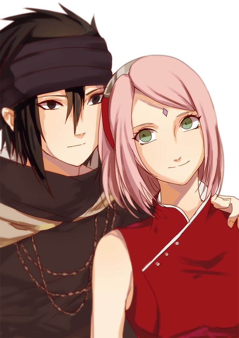 Kumpulan Gambar Sasuke Sakura Romantis