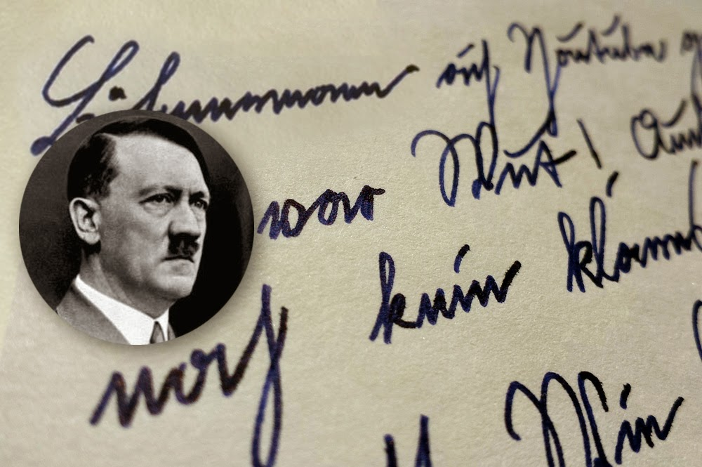 Exclusive: As much as Hitler suggested in his diary on #varoufake