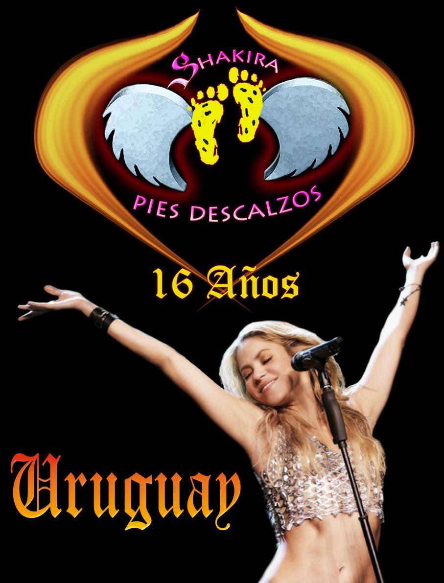 Shakira // PIES DESCALZOS // Sede Uruguay
