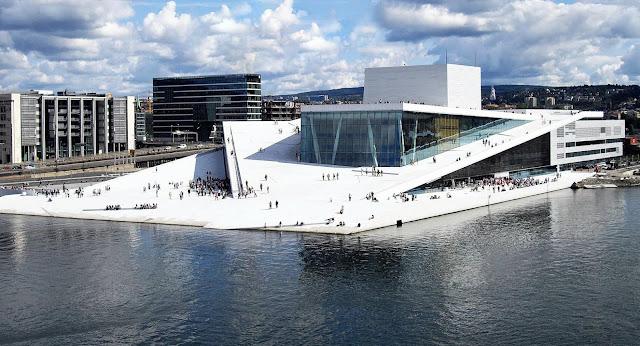 La Opera de Oslo en Suecia