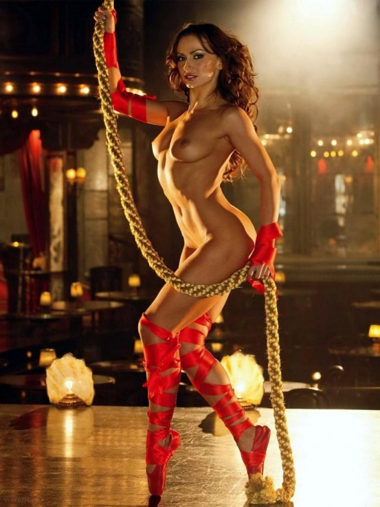 the karina smirnoff playboy stars with Dancing