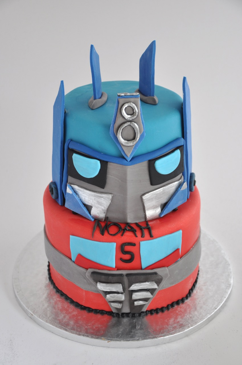 rozanne s cakes transformers cake on birthday cakes cape town southern suburbs