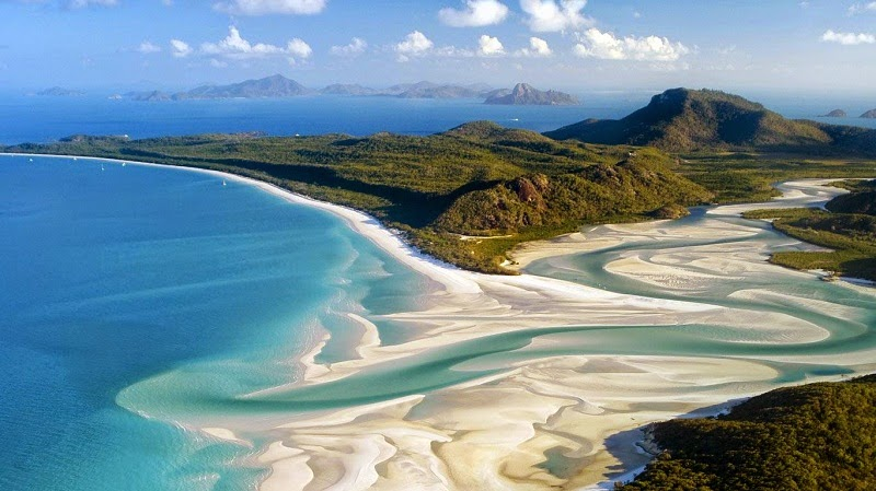 Pantai-Terindah-di-Dunia-Whitehaven-Australia
