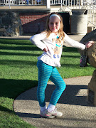 Abby poses in the park in Solvang