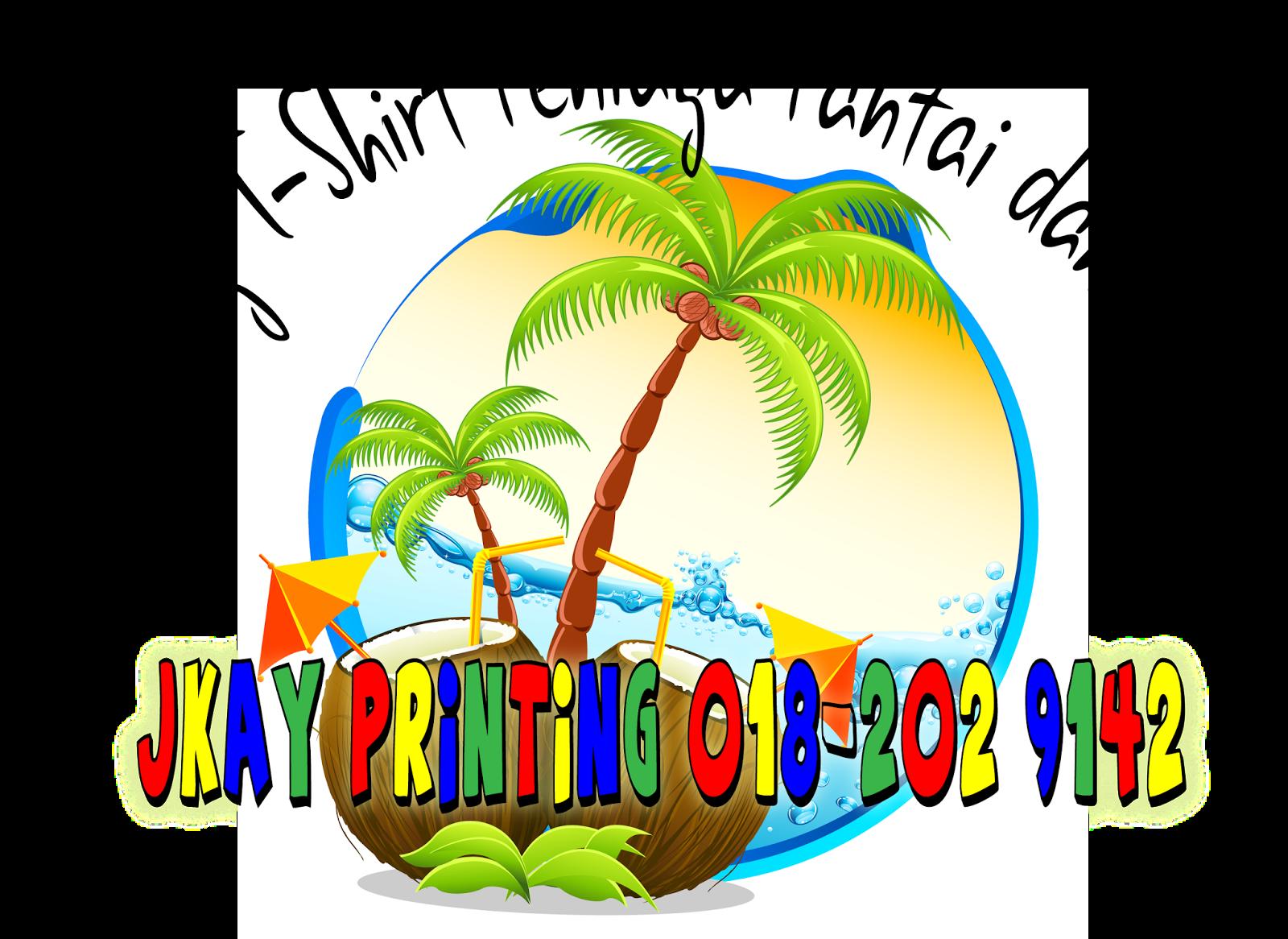 Borong T-Shirt Murah Peniaga Pantai dan Peniaga Pulau