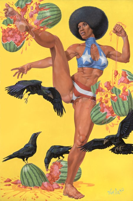 van arno ilustrações sensuais sexy eróticas bizarras surreais
