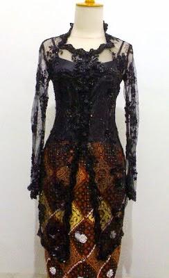 Foto Model Baju Kebaya Hitam