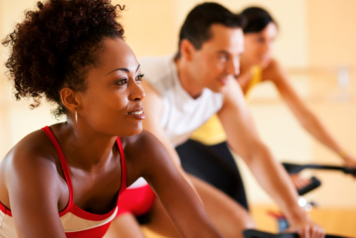 exercise routines and natural hair