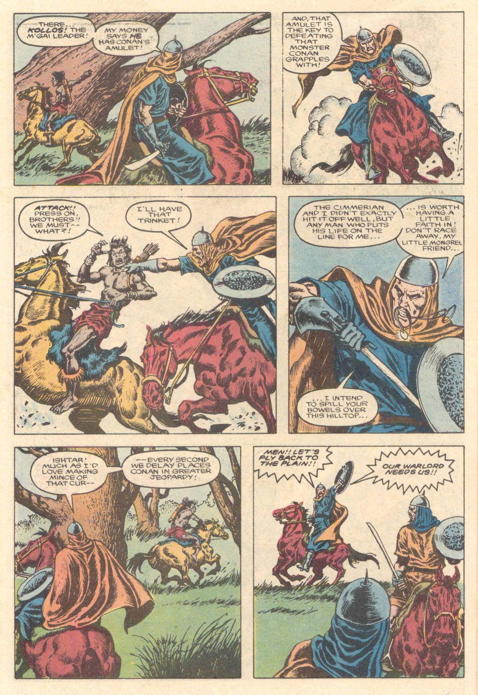 Conan the Barbarian (1970) Issue #183 #195 - English 17