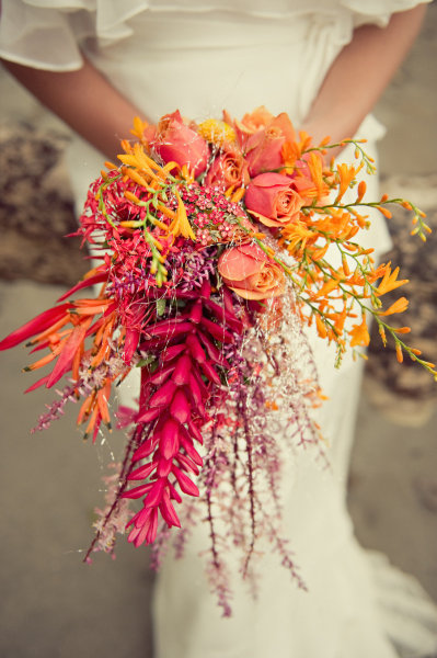букет невесты морская свадьба