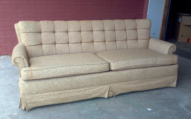 vintage retro couch