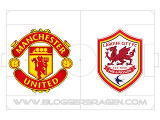 Prediksi Pertandingan Manchester United vs Cardiff City