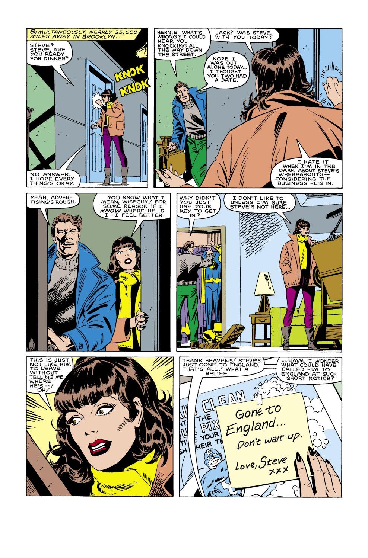 Captain America (1968) Issue #305 #233 - English 16