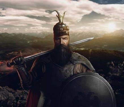Five of the greatest generals of all time, Skanderbeg holds fourth