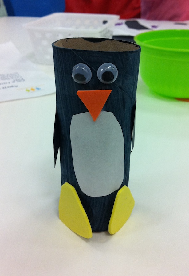 momstown Winnipeg: Penguin Toilet Paper Roll Craft