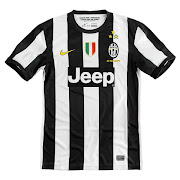 Jeep sponsored juventus 20122013