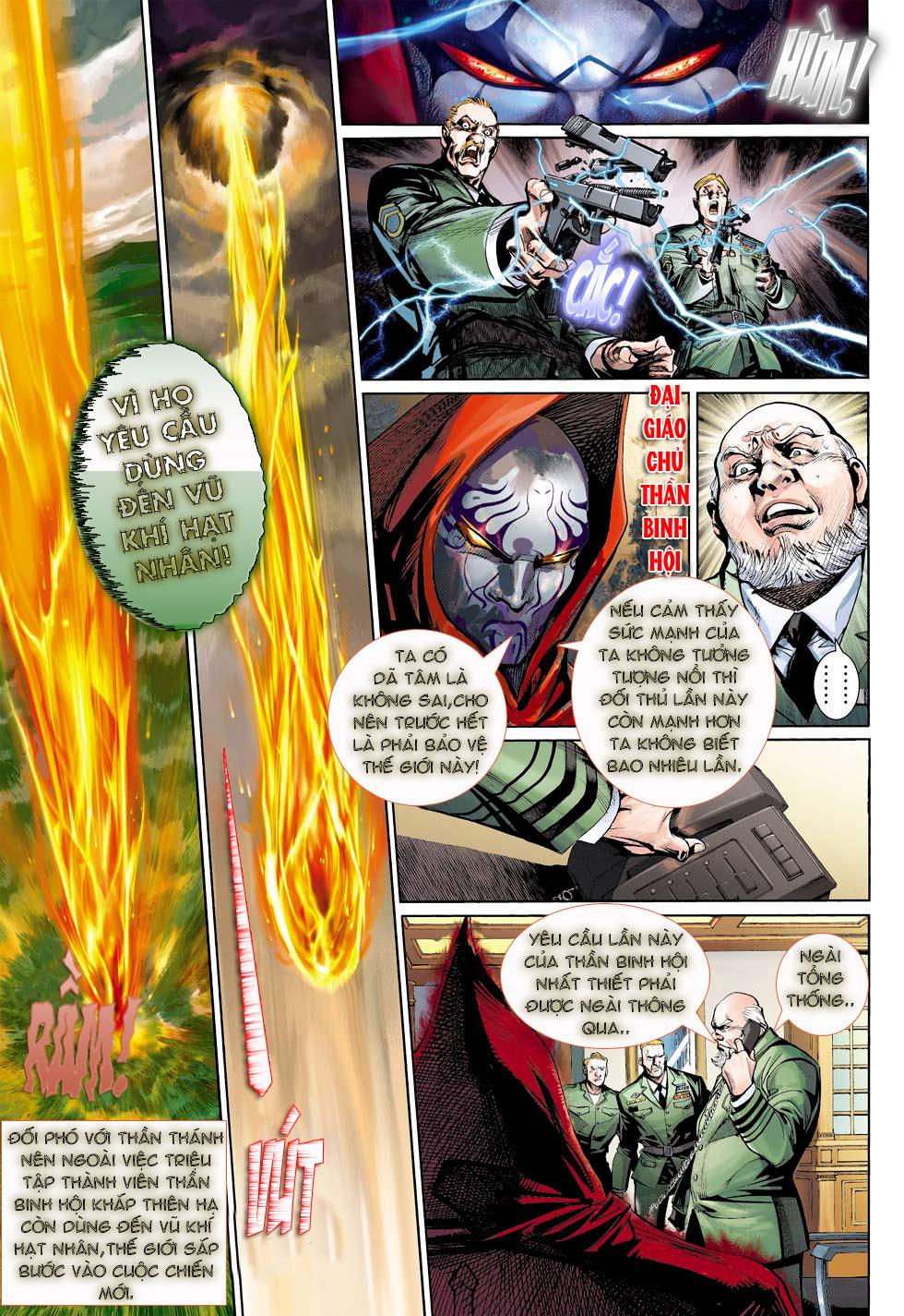 Thần Binh 4 chap 23 - Trang 31