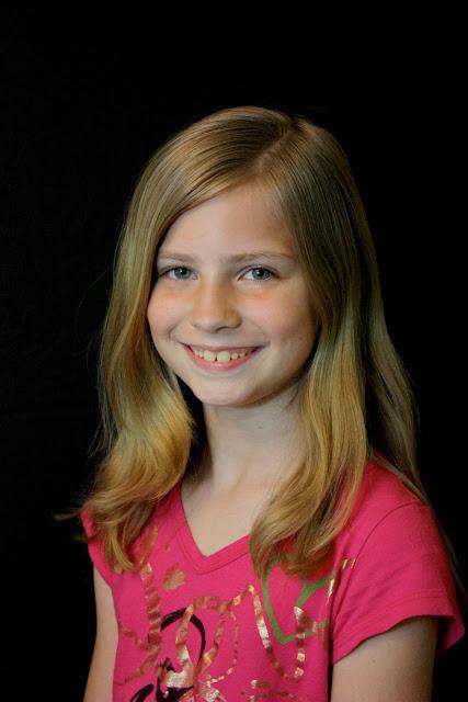 Elementary School Girl Portraits
