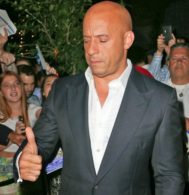 Vin Diesel tiene sueño