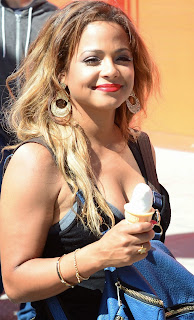 Christina Milian Pictures Enjoying Ice Cream in Venice Beach ~ Celebs Next