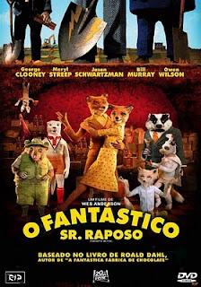O Fantástico Sr. Raposo Dublado capa poster download baixar