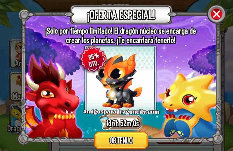 imagen de la oferta especial de dragon city ios y android