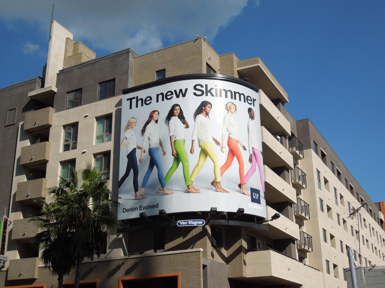 Daily Billboard: Gap Skimmer Denim Evolved fashion ...