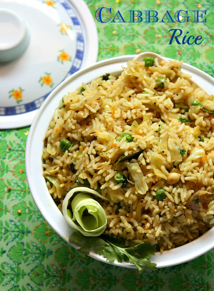 Cook like priya cabbage rice recipe variety rice recipe lunch cabbage rice recipe variety rice recipe lunch box recipes forumfinder Images