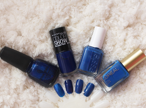 Spotlight: Blue Nail Polish | The Beauty Milk