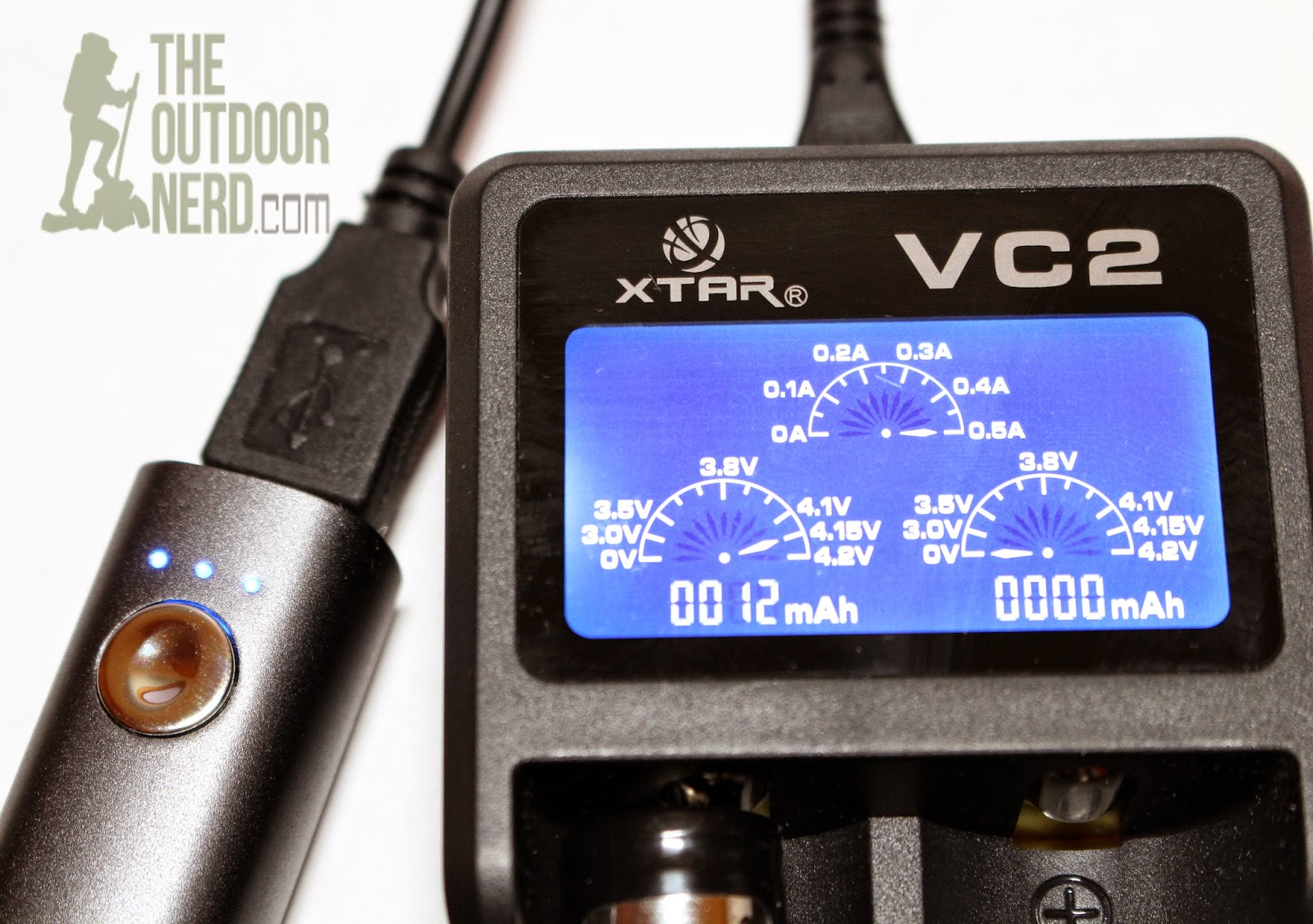 XTAR VC2 Lithium-Ion USB Charger - Product View