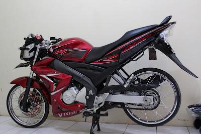 Modif Yamaha Vixion Ban Kecil