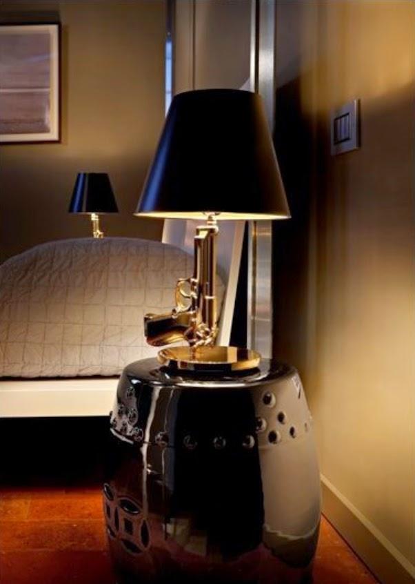 GOLD Gun Lamp