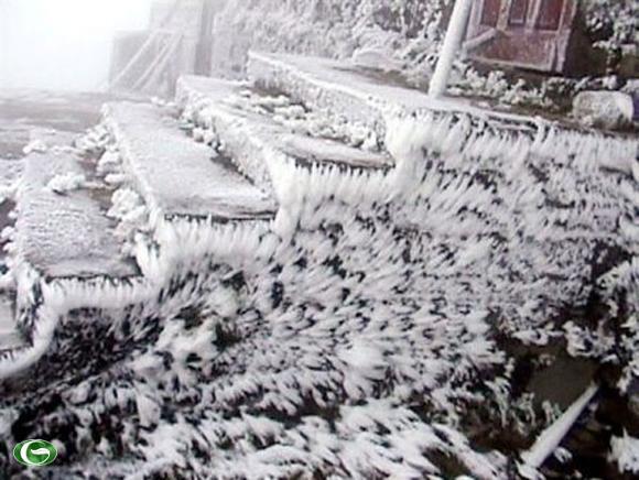 Tuyết Ở Mẫu Sơn – Lạng Sơn