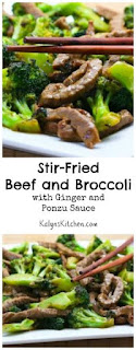 Stir-Fried Beef and Broccoli Recipe with Ginger and Ponzu Sauce (Dairy-Free) [from KalynsKitchen.com]