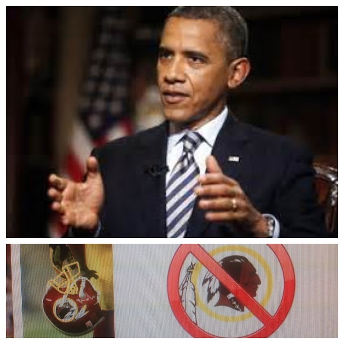 "President Obama understands Cultural Poisoning when he sees it ""Redskins"" (Video)"