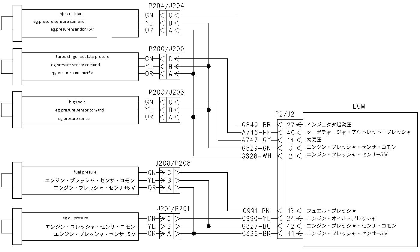 sekawan tehnik diagram electric enggine caterpilar 325c