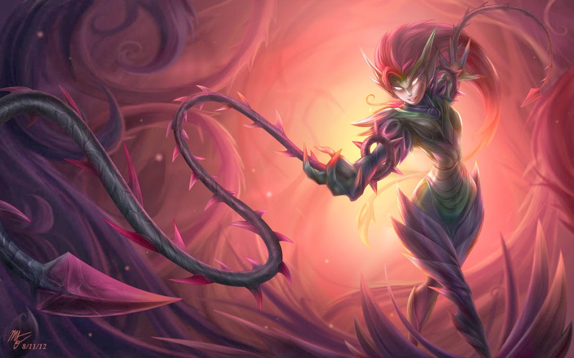 zyra league of - photo #2