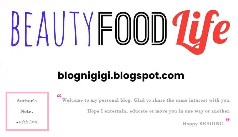 Blog ni Gigi
