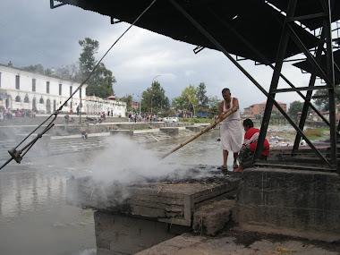 Krematorium Pashupatinath- Kathmandu