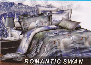 Sprei Fata Romantic Swan