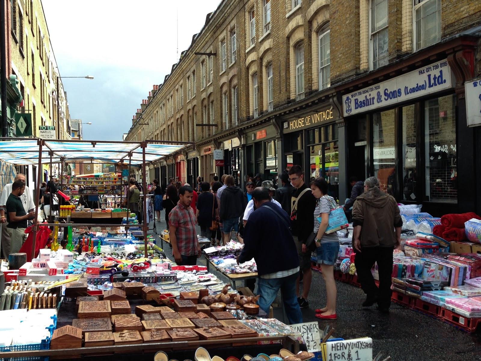 East End London Shoreditch Brick Lane