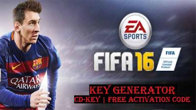 FIFA 16 Registration Code Generator
