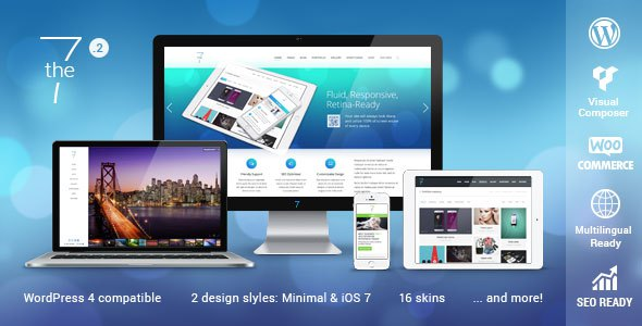Download The7.2 v2.1.9 Responsive MultiPurpose WordPress Theme Free