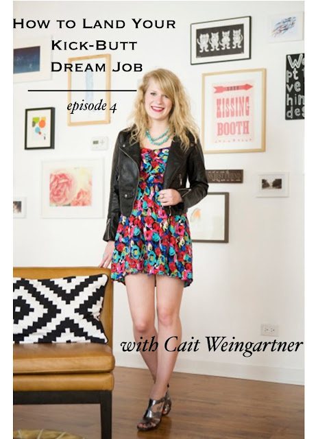 how to land your kick butt dream job, career, jobs, interviews, internships, blogging, tips, advice, Cait, Pretty & Fun