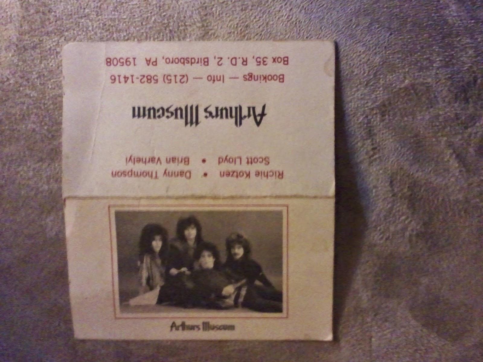 Arthurs Museum cassette